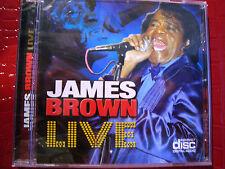 JAMES BROWN CD LIVE 16 TRACKS STILL SEALED