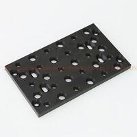 "Universal 1/4"" 3/8"" Tripod BasePlate Mount Cheese Plate fr DSLR RIG Camera BMCC"