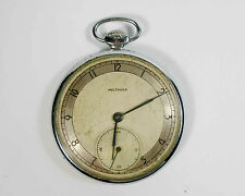 "RARE VINTAGE SOVIET RUSSIAN ""MOLNIJA"" POCKET WATCH 1950's USSR (z5)"
