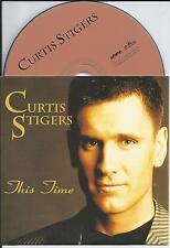 CURTIS STIGERS - This time CD SINGLE 2TR EU CARDSLEEVE 1995 RARE!