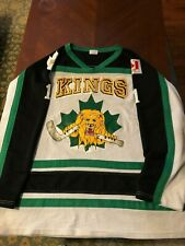 Elmira Kings Game Wrn Home Hockey Jersey #1 AK XXL Jr. team out of Ontario
