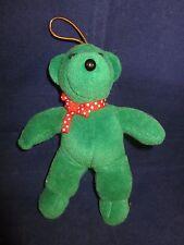 "North American Bear #7054 Bare Bear Baby 1979 Christmas Ornament Green 5.5"" NWT"