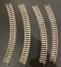 4x Fleischmann N Gauge Profi Track Curve Radius 1 - 45 Degree