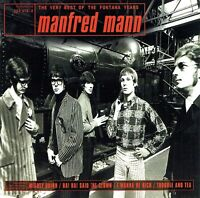(CD) Manfred Mann - The Very Best Of The Fontana Years - Mighty Quinn, u.a.