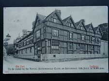 More details for ledbury the park advert, royal automobile club meeting c1908 postcard by stengel