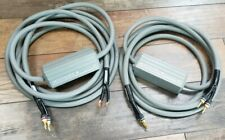 MIT Terminator 4 Audiophile Biwire Speaker Cables 15ft & 12ft *High End*