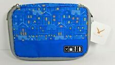 Hynes Eagle Travel Blue City Cable Organizer Bags Electronics Accessories Cases