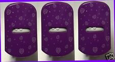 3 Glade PURPLE Walnut Dots PlugIns COVER Decor Unit Cover Design