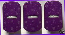 3 Glade PURPLE Walnut Dots PlugIns COVER Decor Unit Cover Design