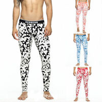 Seobean Mens Thermal Warm Long Pants Leggings Johns Baselayer Underwear Bottoms
