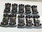 TYCO TCR CHASSIS WIDE LOT OF 10 COMPLETE RED WHEELS BRAND NEW. FREESHIP