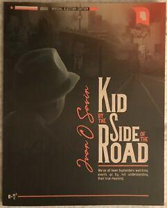JUAN O SAVIN KID BY SIDE OF ROAD **SOLD OUT** 1ST EDITION **JFK JR JOHN KENNEDY