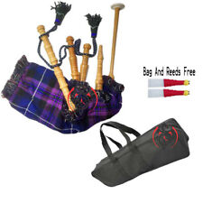 More details for baby toy mini bagpipe with pride of scotland cover & cord free bag and reed gift