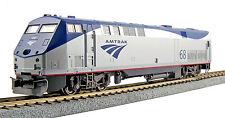 Kato HO Scale GE P42  Genesis Diesel Locomotive - Amtrak Phase Vb #68 * DC *
