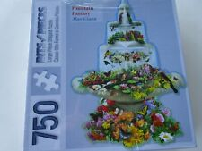 Bits & Pieces Shaped Jigsaw Puzzle 750 Pieces FOUNTAIN FANTASY  New Sealed