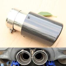 Gel-coated Exhaust Tip Muffler Pipe Trim Decorative durability Real Carbon Fiber