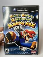Dance Dance Revolution Mario Mix (Nintendo Gamecube 2005) Game, Case, & Manual