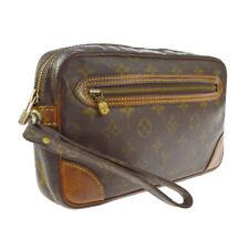 Louis Vuitton Марли dragonne clucth сумочка с монограммой Hr M51825 A53166