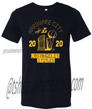 Brand New 2020 Finals L.A. Dodgers LA Lakers  Baseball Basketball T-shirt XS-4XL