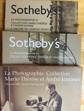 Collection Marie-Therese Et Andre Jammes  3 Volumes Sotheby's Charles Negre