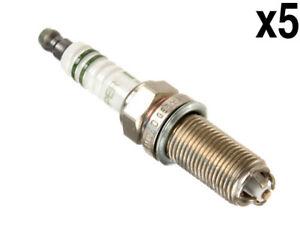 Volvo s40 v50 (04-10 2.4i) Spark Plug (x5) BOSCH