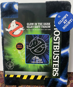 Ghostbusters Glow In The Dark Silky Soft Throw