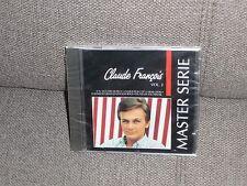CLAUDE FRANCOIS CD MASTER SERIE NEUF