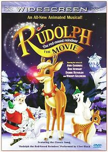 Rudolph the Red-Nosed Reindeer The Movie - NEW SEALED  Fast Shipping