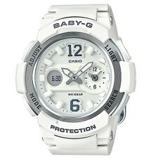 Casio Baby-g White Gold Digital Analog Women's Watch