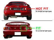 JDM Black / Clear Rear Tail Brake Lights Lamp For 91-95 Toyota SW20 MR2 MR-2 NEW