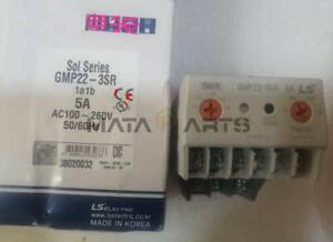 1PC LS Thermal overload relay GMP22-3SR 1A1B 5A AC100-260V NEW