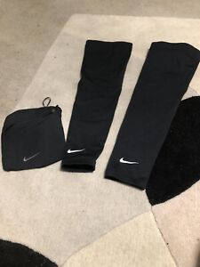 Nike Armwarmers Ideal For Running And Cycling Sz Lrg Rrp £18