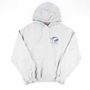 CHAMPION Grey Classic Pullover Hoodie Mens L