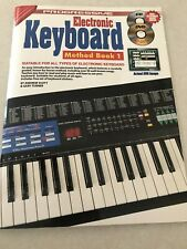 Electric Keyboard Method One Book And Cd And Dvd New!