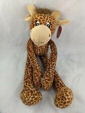 "Fiesta Hanging Giraffe Plush 16""  Stuffed Animal Toy"