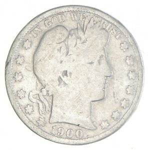 Better 1900-O - US Barber 90% Silver Half Dollar Coin Collection Set Break *032
