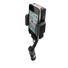 iPod iPhone 3G 3GS 4 4S Hand free Car Kit FM Transmitter