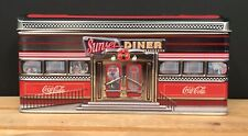 Colorful Retro Coca-Cola The Sunset Diner Car Tin 1950's Style