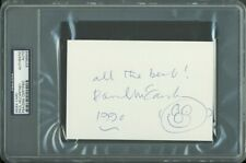Paul McCartney The Beatles Authentic Signed 4x6 Index Card w/ Sketch PSA Slabbed