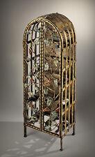 Portabottiglie cantinetta vino in ferro battuto dipinto a mano BELL PB/120