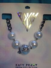 One Large Katy Perry Prism Collection Five Faux Pearl Necklace Claire's New