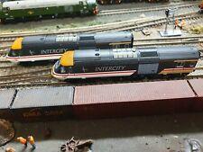 Dapol 2d-019-202 N Gauge Class 43 Hst Intercity Swallow W43041 and W43166 Power
