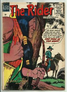 THE RIDER #3 (Masked Western Gunfighter, The TIme of the Hunt) Ajax-Farrell 1957