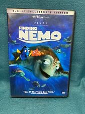 Finding Nemo Collector's Edition 2-Dvd Set Pixar Disney Animation Family Kid's