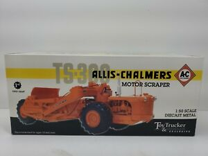 1/50 Allis Chalmers TS-300 Motor Scraper by 1st Gear  Diecast Metal