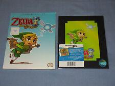 """TLO Zelda: Phantom Hourglass"" Strategy Guide & Cel Art Print/Both Brand New"