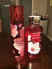 Bath And Body Works Japanese Cherry Blossom Spray And Shower Gel New