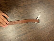 Boys' Embossed Reversible Belt - Cat & Jack Brown Xl New