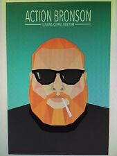 ACTION BRONSON 24x36 poster BAMBAMBAKLAVA BLUE CHIPS MR. WONDERFUL ACTIN CRAZY!!