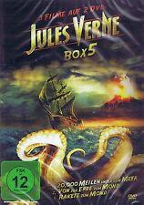 DOPPEL-DVD NEU/OVP - Jules Verne Box 5 - Rakete zum Mond u.a. - 3 Filme